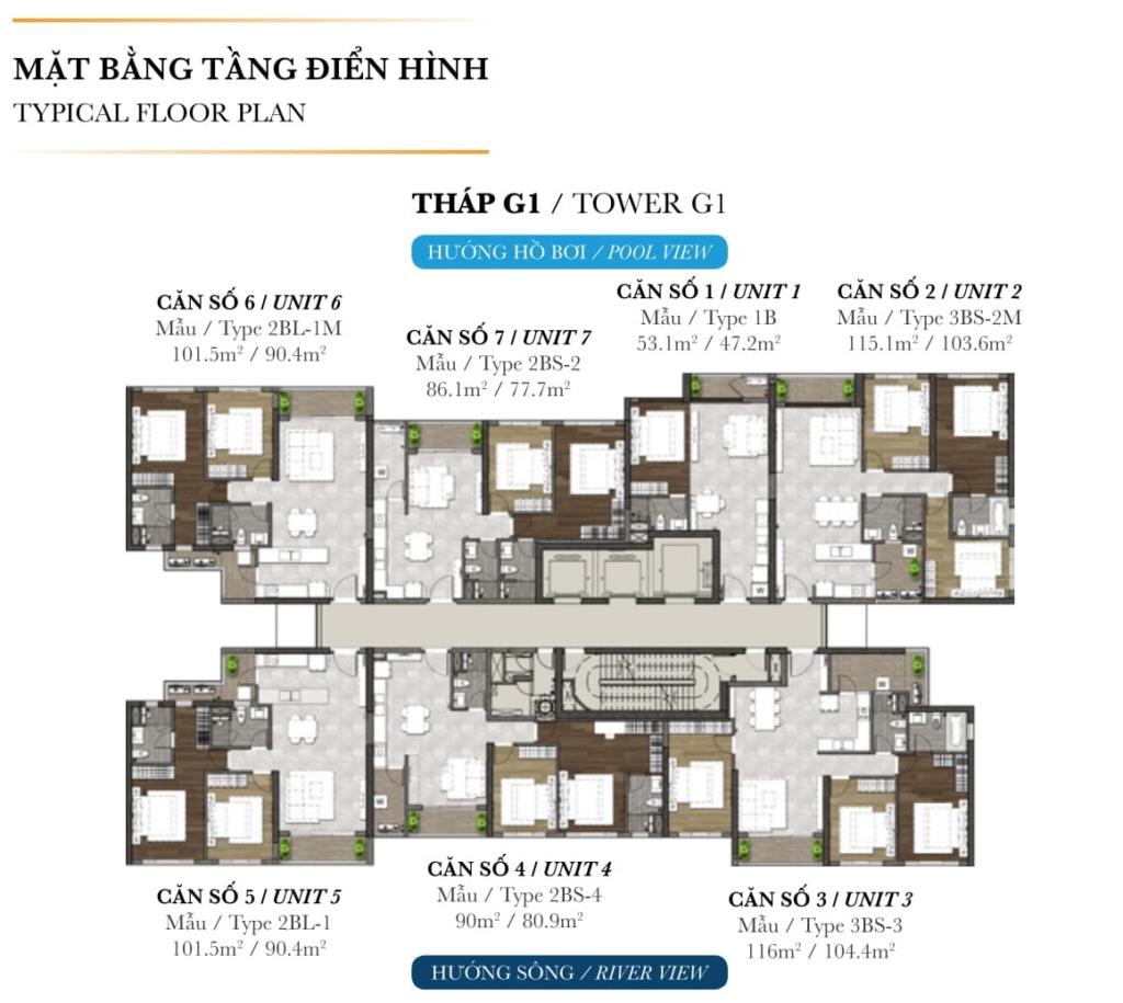 Khu căn hộ cao cấp Palm Garden Đầu tư 1 sinh lời 3