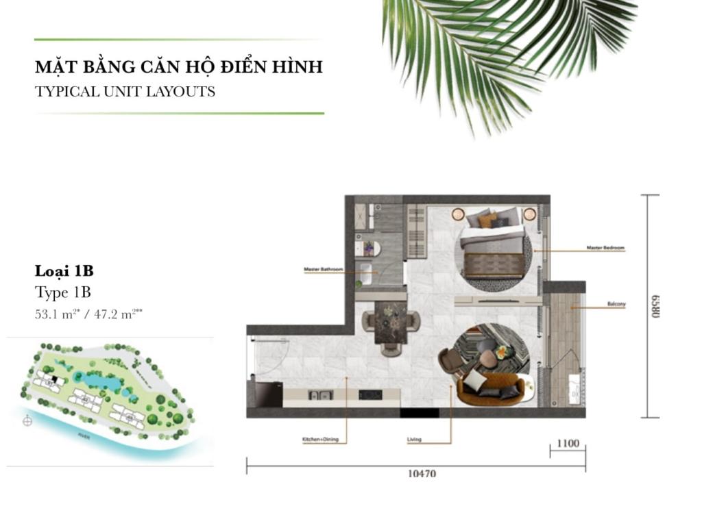 Dự án Palm Garden Keppel Land bức tranh tuyệt mỹ khó cưỡng
