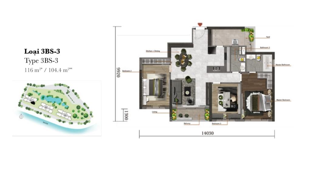 Trải nghiệm căn hộ đa chức năng tại Dự án chung cư cao cấp Palm Garden