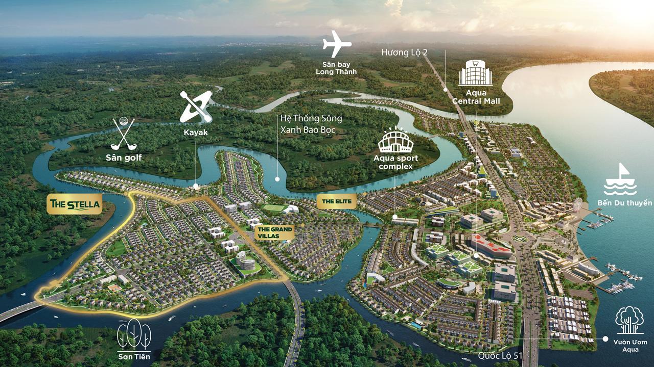 Chất lượng sống mà dự án Aqua City mang lại