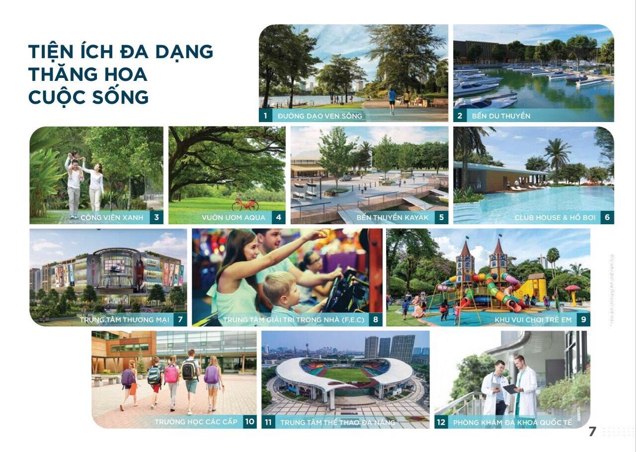 Lợi thế về môi trường sống tại dự án Aqua City