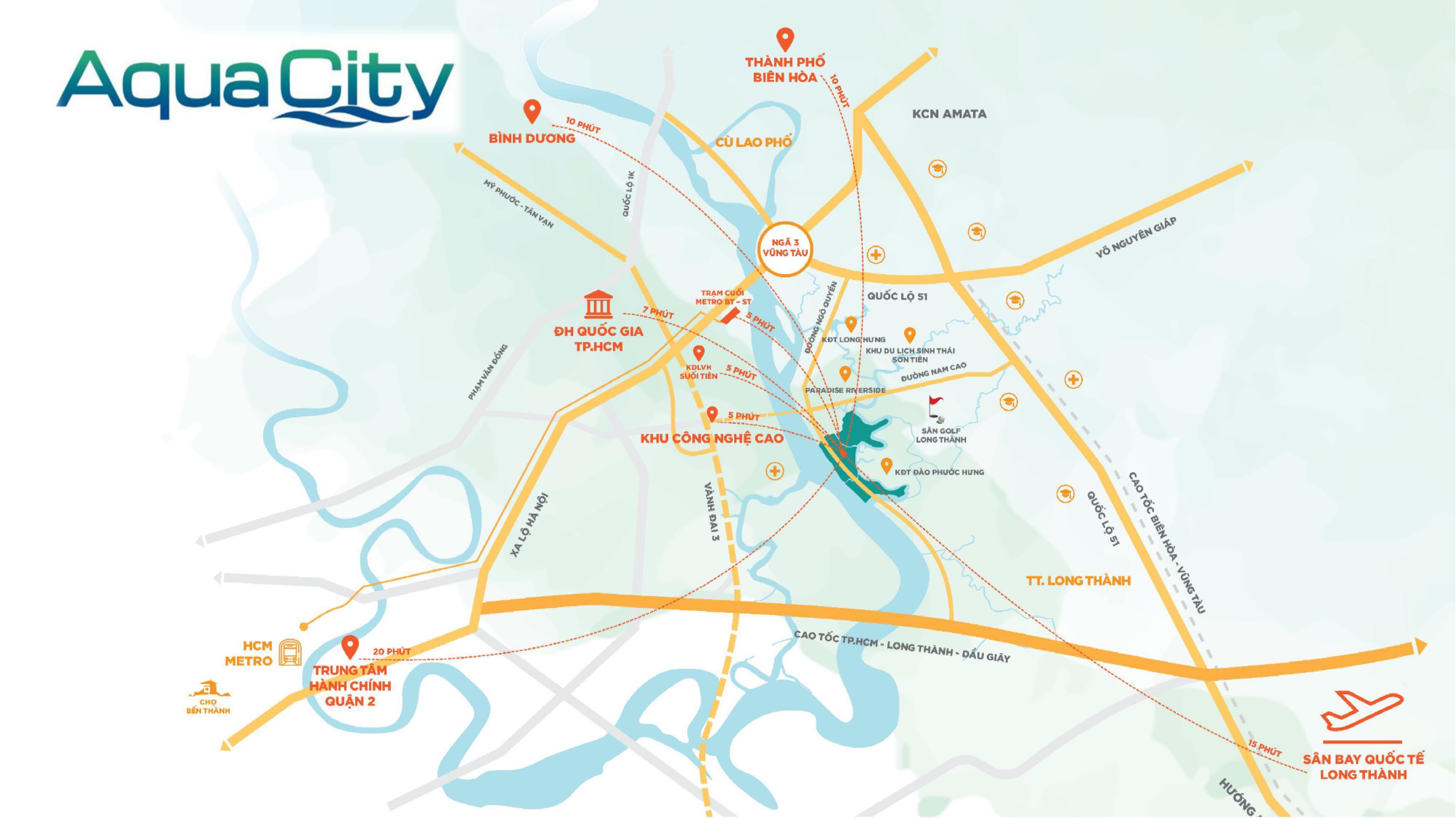Chính sách dự án Aqua City ra sao?